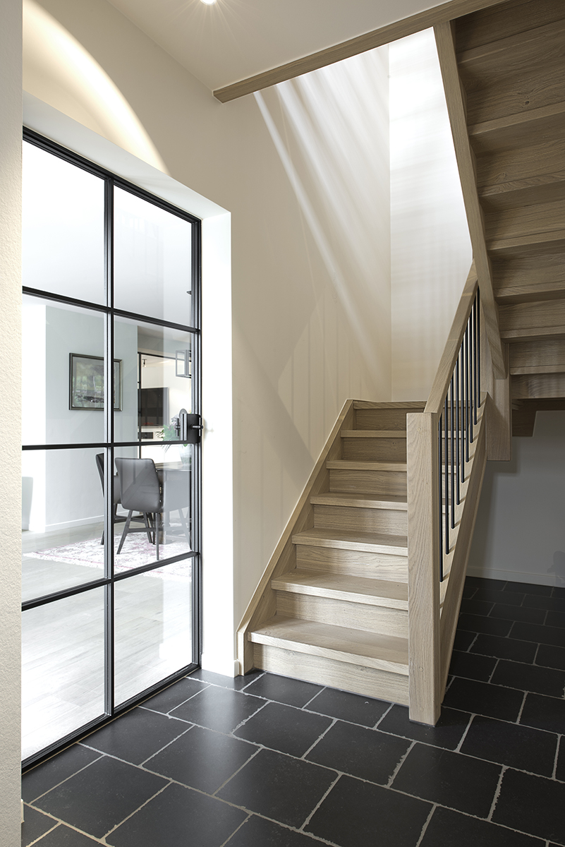 Escalier interieur escalier en composite with escalier - Decoration escalier interieur ...