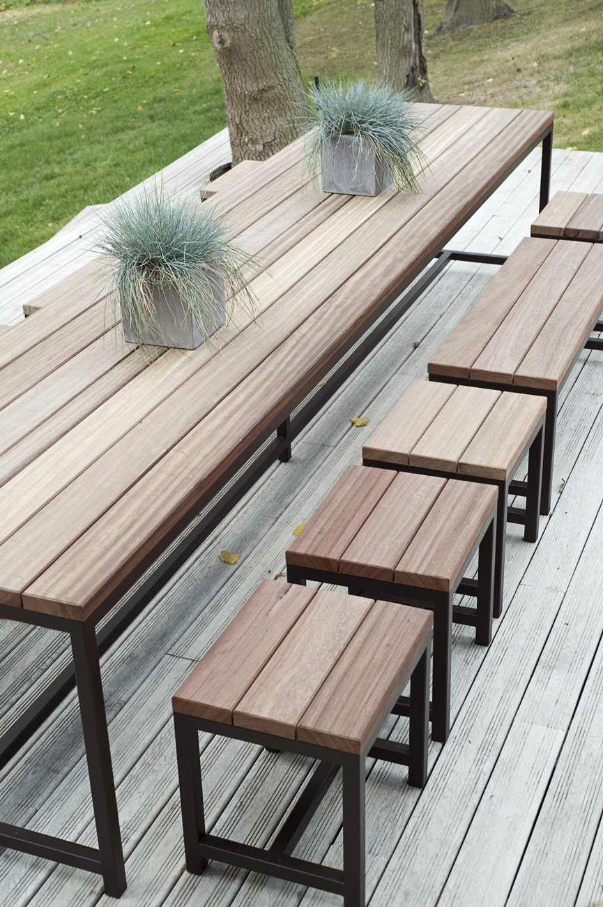 Table de jardin XXXL